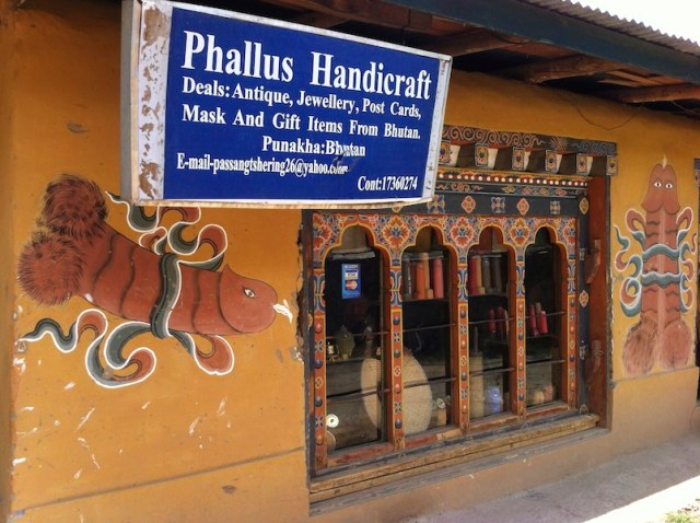Penises in Bhutan