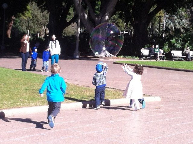 bubble hunters